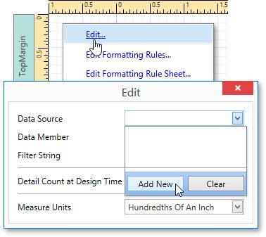 User Interface Reference > Report Designer > Report Designer